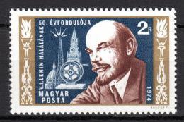 Poštovní známka Maïarsko 1974 V. I. Lenin Mi# 2927