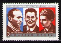Poštovní známka Maïarsko 1974 Hrdinové Mi# 2928