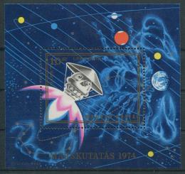 Poštovní známka Maïarsko 1974 Dobývání Marsu Mi# Block 104