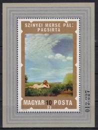 Poštovní známka Maïarsko 1974 Akty, umìní Mi# Block 108