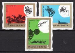 Poštovní známky Maïarsko 1974 Lidová armáda Mi# 2982-84