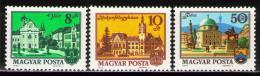 Poštovní známky Maïarsko 1974 Mìsta Mi# 3001-03 Kat 10€