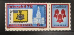 Poštovní známka Maïarsko 1976 Výstava INTERPHIL Mi# 3122