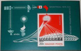 Poštovní známka Maïarsko 1976 LOH Montreal Mi# Block 119