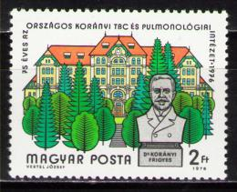 Poštovní známka Maïarsko 1976 Institut Korányi Mi# 3156