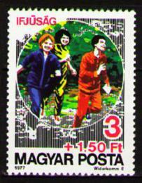 Poštovní známka Maïarsko 1977 Sportování mládeže Mi# 3200