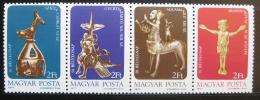 Poštovní známky Maïarsko 1977 Umìlecké pøedmìty Mi# 3209-12