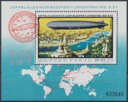 Poštovní známka Maïarsko 1977 Historie letectví Mi# Block 127