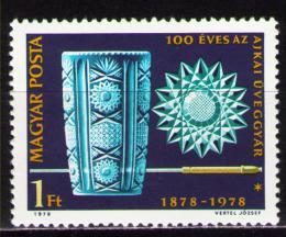 Poštovní známka Maïarsko 1978 Výroba skla Mi# 3283