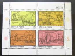 Poštovní známky Maïarsko 1978 Moøeplavci Mi# Block 131