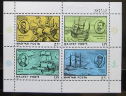 Poštovní známky Maïarsko 1978 Moøeplavci Mi# Block 132