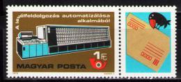 Poštovní známka Maïarsko 1978 Automatické tøídìní dopisù Mi# 3309
