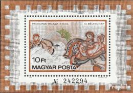 Poštovní známka Maïarsko 1978 Mozaika Mi# Block 134