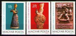 Poštovní známky Maïarsko 1978 Keramika Mi# 3323-25