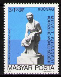 Poštovní známka Maïarsko 1979 Socha, Kovács Mi# 3340