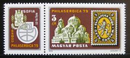 Poštovní známka Maïarsko 1979 Výstava PHILASERDICA Mi# 3342