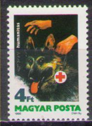 Poštovní známka Maïarsko 1986 Slepecký pes Mi# 3813
