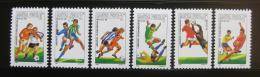 Poštovní známky Maïarsko 1986 MS ve fotbale Mi# 3814-19