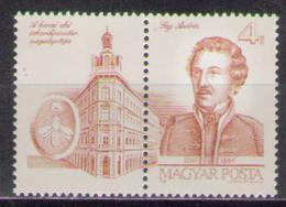 Poštovní známka Maïarsko 1986 András Fáy, spisovatel Mi# 3826