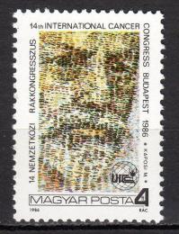 Poštovní známka Maïarsko 1986 Móritz Kaposi, lékaø Mi# 3835