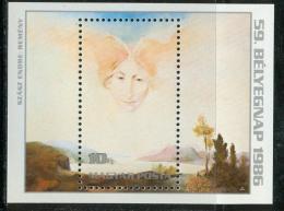 Poštovní známka Maïarsko 1986 Umìní, Szász Mi# Block 185