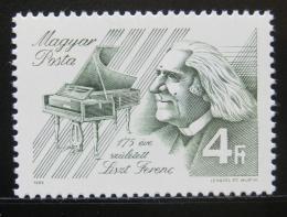 Poštovní známka Maïarsko 1986 Franz Liszt, skladatel Mi# 3842