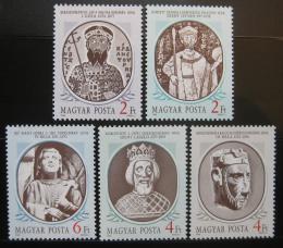 Poštovní známky Maïarsko 1986 Králové Mi# 3866-70