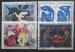 Poštovní známky Francie 1961 Umìní Mi# 1372-75 Kat 9€