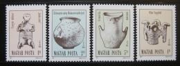 Poštovní známky Maïarsko 1987 Archeologické nálezy Mi# 3891-94