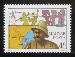 Poštovní známka Maïarsko 1987 Sámuel Teleki Mi# 3905