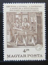Poštovní známka Maïarsko 1987 Umìní, Abraham von Werdt Mi# 3906