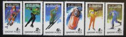 Poštovní známky Maïarsko 1987 ZOH Calgary Mi# 3929-34