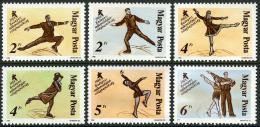 Poštovní známky Maïarsko 1988 MS v krasobruslení Mi# 3946-51