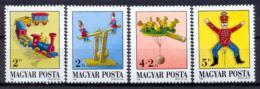 Poštovní známky Maïarsko 1988 Hraèky Mi# 3978-81