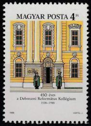 Poštovní známka Maïarsko 1988 Kolegium Debrecín Mi# 3982