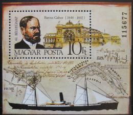 Poštovní známka Maïarsko 1988 Den známek Mi# Block 200