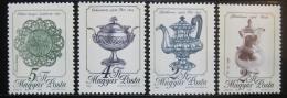 Poštovní známky Maïarsko 1988 Umìlecké pøedmìty Mi# 4003-06