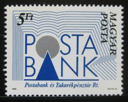 Poštovní známka Maïarsko 1989 Spoøitelna Mi# 4007