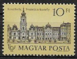 Poštovní známka Maïarsko 1989 Rodinný zámek Mi# 4009