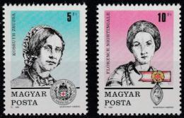 Poštovní známky Maïarsko 1989 Den známek Mi# 4048-49