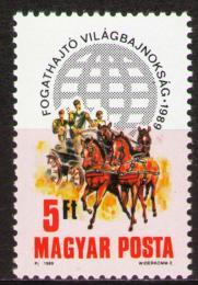 Poštovní známka Maïarsko 1989 Konì Mi# 4047
