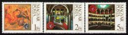 Poštovní známky Maïarsko 1984 Státní opera Mi# 3697-99