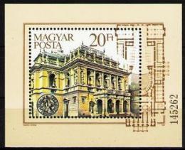 Poštovní známka Maïarsko 1984 Státní opera Mi# Block 173
