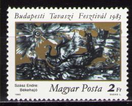 Poštovní známka Maïarsko 1983 Umìní, Szász Mi# 3597