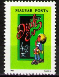 Poštovní známka Maïarsko 1983 Školák Mi# 3598