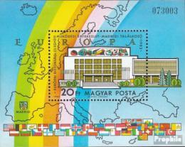 Poštovní známka Maïarsko 1983 Konference bezpeènosti Mi# Block 168