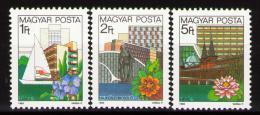 Poštovní známky Maïarsko 1983 Rekreaèní resorty Mi# 3647-49