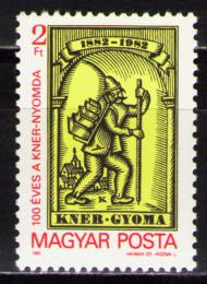 Poštovní známka Maïarsko 1982 Tiskárna Kner Mi# 3574