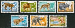 Poštovní známky Maïarsko 1981 Fauna Mi# 3470-76