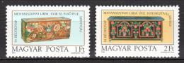 Poštovní známky Maïarsko 1981 Svatební truhly Mi# 3505-06